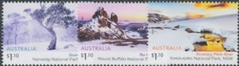AUS 21/07/2020 Australian Alps set of 3